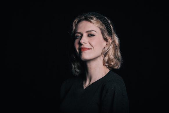 Un ritratto di Elena Radonicich