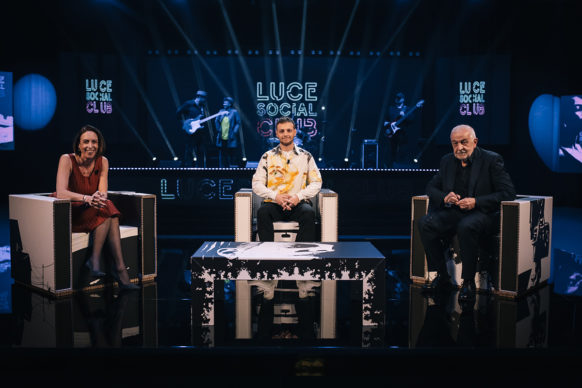 Anastasio ospite di Luce Social Club