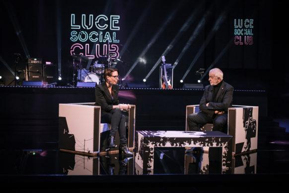 Martina Riva e Gianni Canova a Luce Social Club