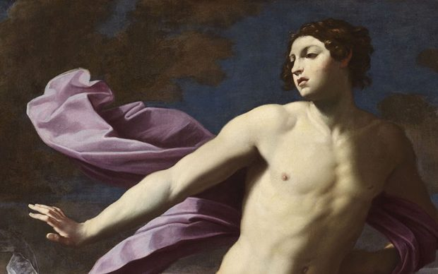 Guido Reni, Atalanta e Ippomene (dettaglio), c. 1620–25, olio su tela, Museo e Real Bosco di Capodimonte, Napoli. Courtesy of Kimbell Art Museum