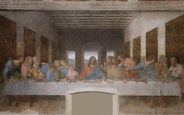 Ultima Cena (Cenacolo vinciano). 1494-1498
