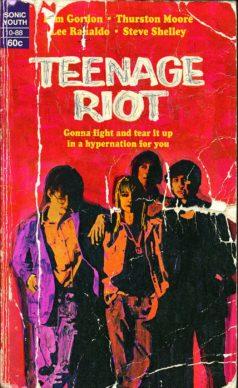Teenage Riot. Courtesy l'artista