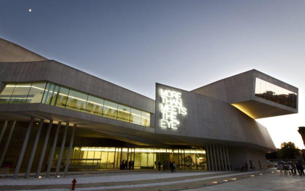 Museo MAXXI. Inaugurazione Maurizio Nannucci ''Where To Start'' e YAP Young Architect Projects 2015. © Musacchio & Ianniello