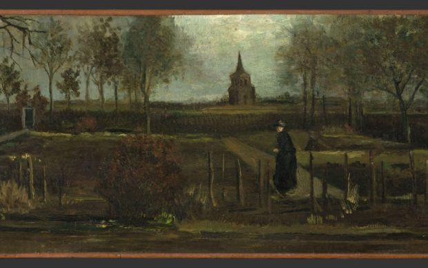 Vincent van Gogh, The Parsonage Garden at Nuenen in Spring © Groninger Museum, on loan from Municipality of Groningen