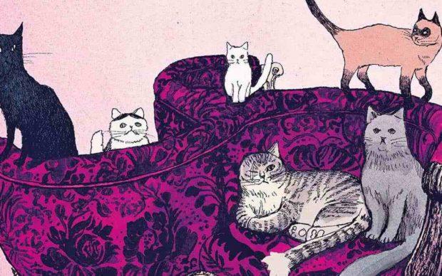 Taiyo Matsumoto, I gatti del Louvre, dettaglio della copertina