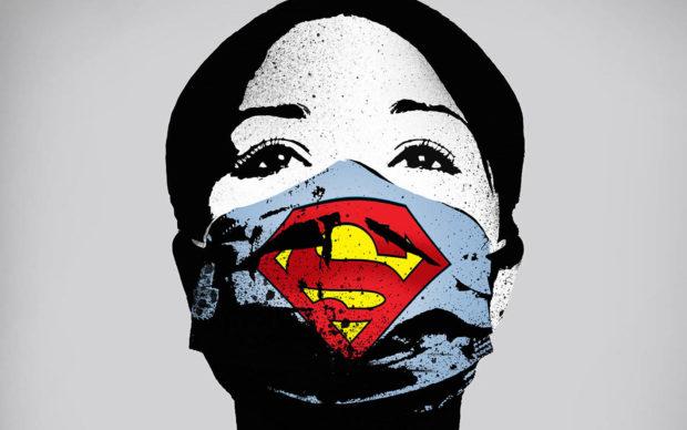 FAKE, Super Nurse, courtesy l'artista