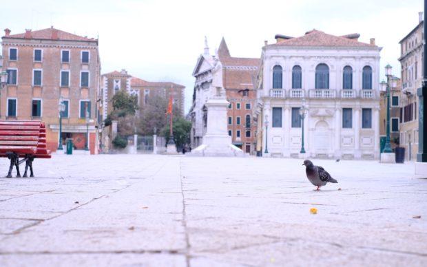 Venezia, 14 marzo 2020, photo Anna Toscano