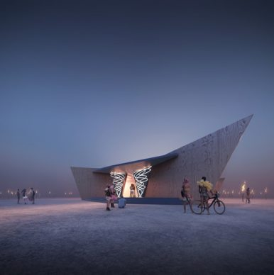 Museum of No Spectators. Credit Architect and Co-Lead Artist John Marx
