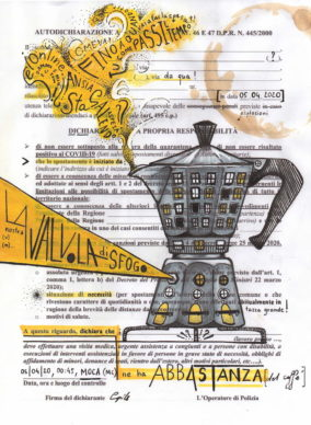 @camilla_pilotto, Caffè autocertificato di origine controllata. Courtesy Autocertificazioni illustrate