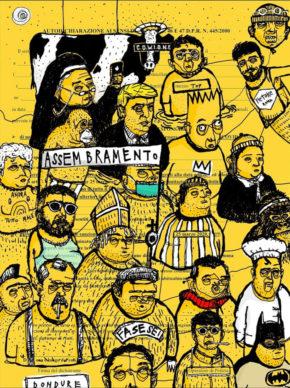 @marco.palmieri, Assembramento. Courtesy Autocertificazioni illustrate