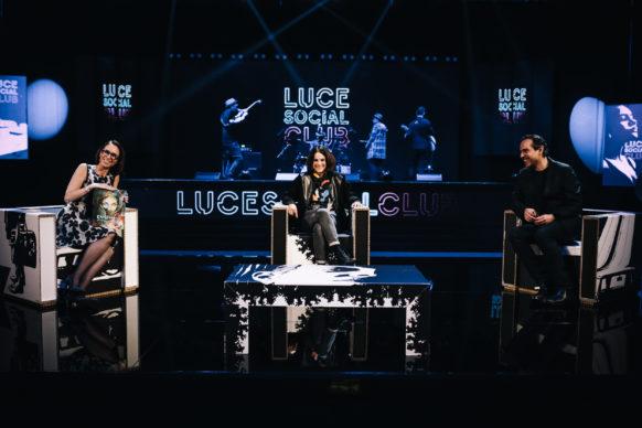 Alice Pasquini, ospite del quarto episodio di Luce Social Club