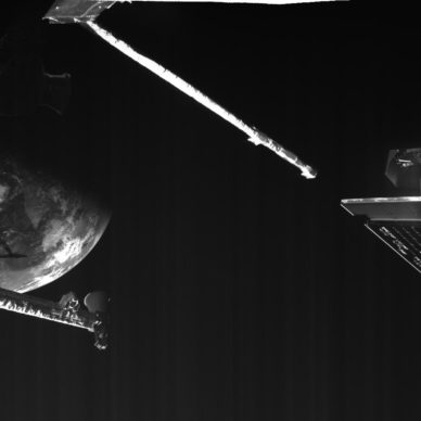 BepiColombo's close-up of Earth during flyby, ESA/BepiColombo/MTM, CC BY-SA 3.0 IGO