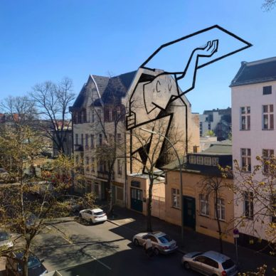 Berlino_by Ale Giorgini (photo @damianostingone). Courtesy l'artista