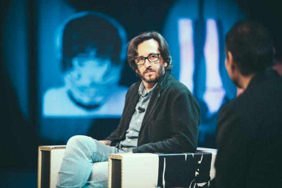 Daniele Vicari. ospite del terzo episodio di Luce Social Club
