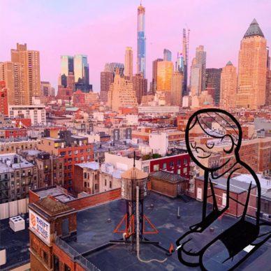 New York_by Ale Giorgini (photo @harryheissmann). Courtesy l'artista
