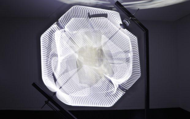 Orbiting, installation in motion, february 2020, credit Joseph Kennedy