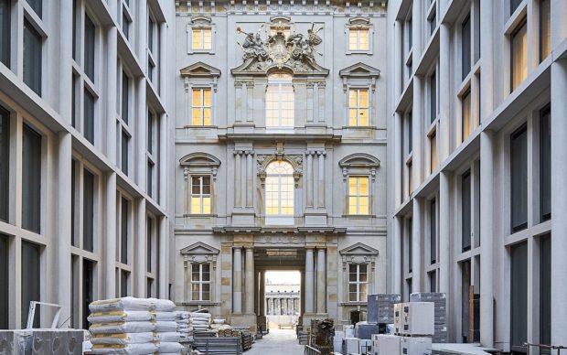 Humboldt Forum im Berliner Schloss (SHF), Passage, Court portal 4, May 2019 © SHF / Stephan Falk