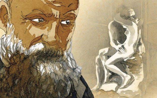 Rodin, NMB Comics, dettaglio della copertina