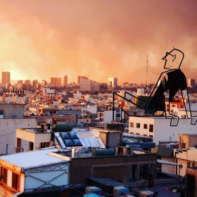 Teheran_by Ale Giorgini (photo @r_b055). Courtesy l'artista