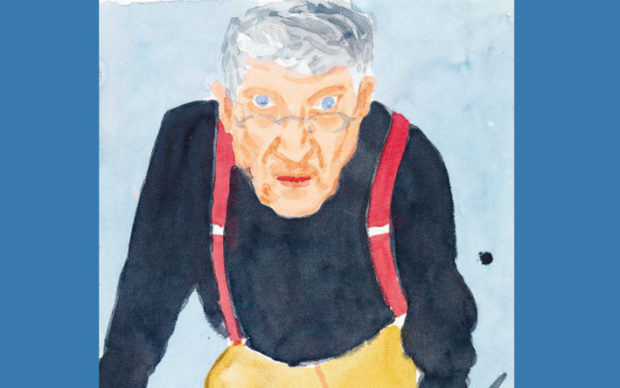 David Hockney: Drawing from Life, dettaglio della copertina