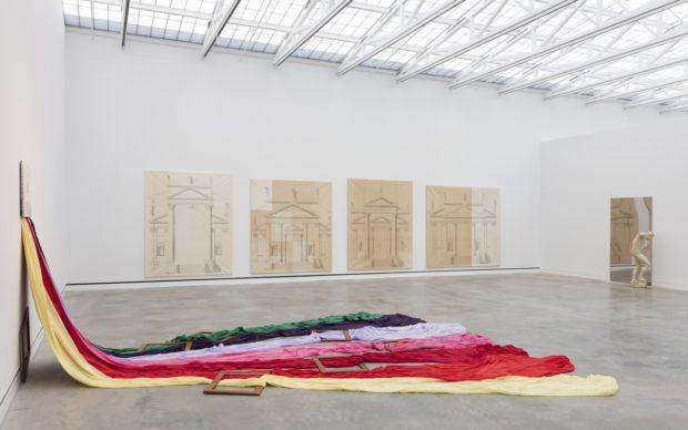 una installation view di Magazzino Italian Art, photo Marco Anelli