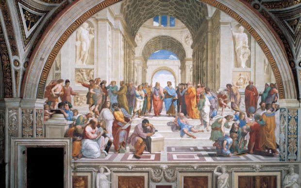 Raffaello Scuola Atene_GettyImages-186505322