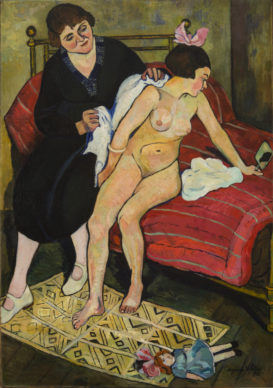 Suzanne Valadon, The Abandoned Doll, 1921; oil on canvas, 51 x 32 in.; National Museum of Women in the Arts, Gift of Wallace and Wilhelmina Holladay; Photo by Lee Stalsworth
