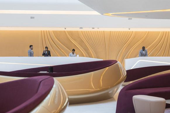 Zaha Hadid Architects, Opus, Dubai. Photography © Laurian Ghinitoiu