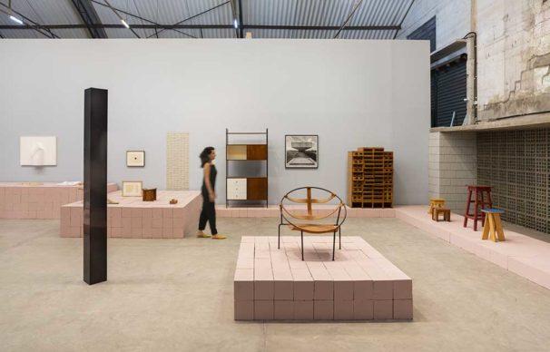 AAA – Antologia de Arte e Arquitetura - Installation view. Photo Eduardo Ortega