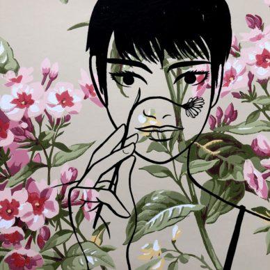 Alessandro Baronciani, Le Parati Wall-Flowers Girl, 2020