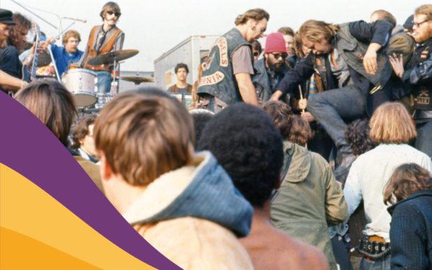 Altamont 1969. I Rolling Stones e il concerto della morte, dettaglio della copertina