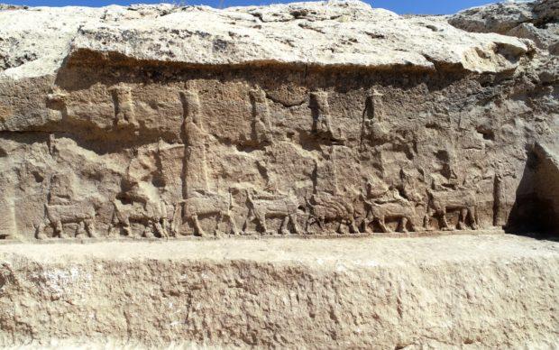 Faida, Rilievo 7, VIII-VII sec. a.C. (foto Alberto Savioli per LoNAP)