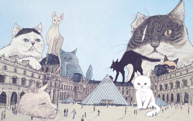 Taiyo Matsumoto, I gatti del Louvre