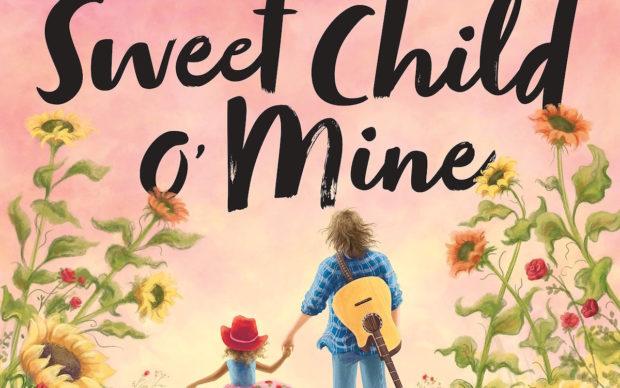 GNR-Sweet-Child-O-Mine-Book, dettaglio della copertina, illustrazione di Jennifer Zivoin