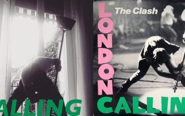 il remake della cover di London Calling del Clash di Alessandro Bassetti