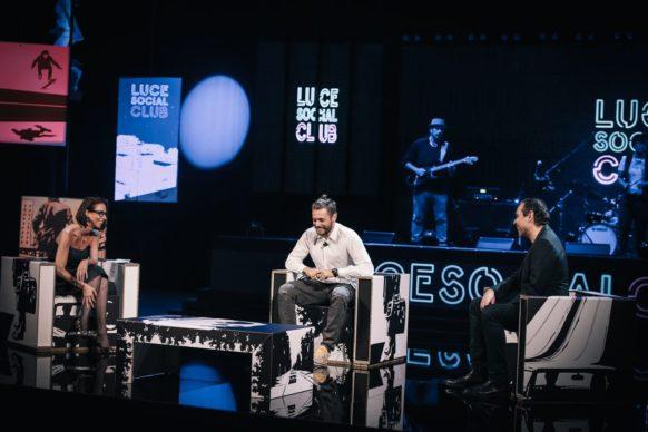 Ludovico Tersigni, ospite della sesta puntata di Luce Social Club