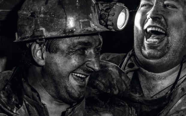 Maxim Marmur, The Coal People, dettaglio della copertina