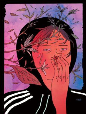 Una illustrazione di Vitt Moretta. Courtesy l'artista