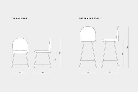 The Fan Chair, un progetto a cura di Tobia Zambotti. Courtesy l'artista
