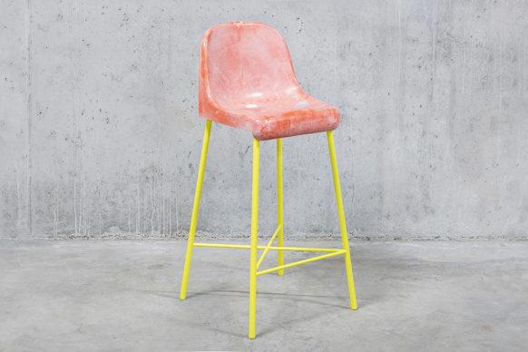 The Fan Chair, un progetto a cura di Tobia Zambotti. Foto di Patrik Ontkovic