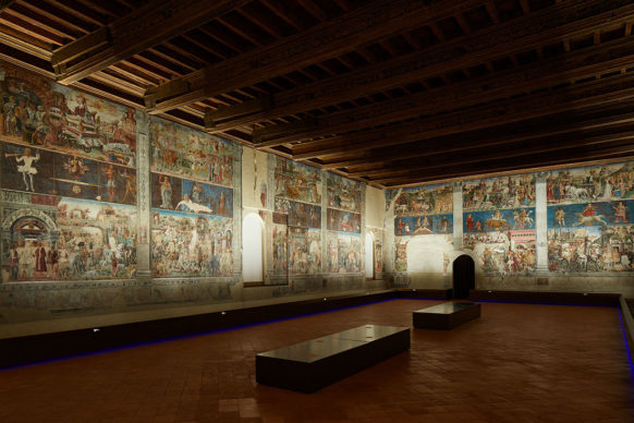 Ferrara, Palazzo Schifanoia, Salone dei Mesi - pareti nord e est. Photo credit Henrik Blomqvist