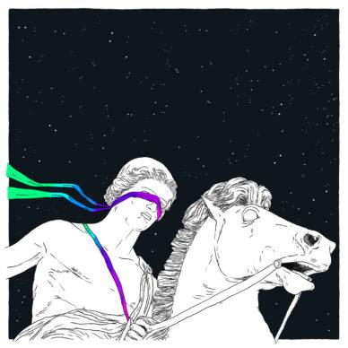 Castore, un'illustrazione di Adam Tempesta. Courtesy l'artista