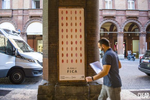 """Redville per """"La lotta è FICA"""" un progetto di public art di CHEAP. Photo Michele Lapini"""