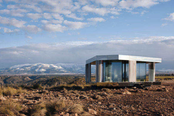 Glass Pavilion, OFIS Arhitekti, Granada, Spain, 2018. Image credit: Courtesy of Guardian Glass, Photo: Gonzalo Botet (page 244, top)