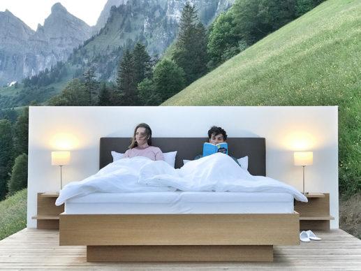 Zero Real Estate, Null Stern Spin-off Lüsis-Suite. Photo ©Patrik-Riklin Switzerland 2020
