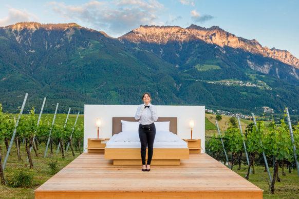 Zero Real Estate, Null Stern Spin off Fürsten-Suite. Photo ©Paul J. Trummer Liechtenstein Tourism Switzerland 2020