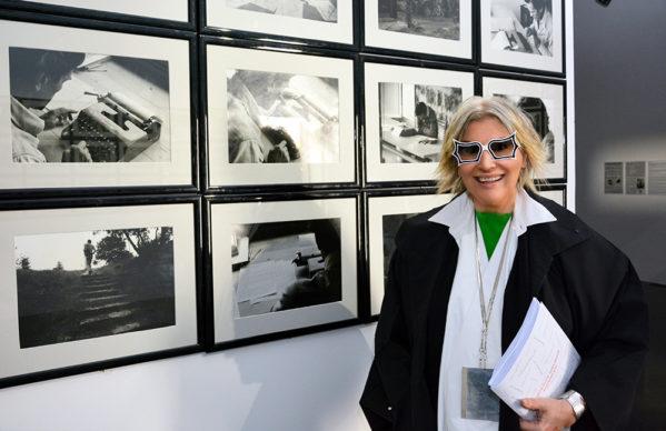 """Alda Fendi alla mostra """"Ti impediranno di splendere. E tu splendi invece. Pier Paolo Pasolini Foto di Dino Pedriali"""". Foto Carlo Bellincampi"""
