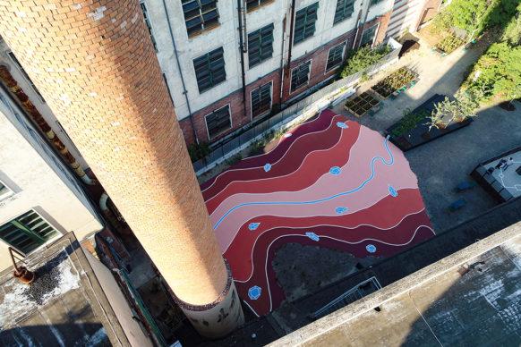 Andreco, Arno - Imaginary Topography. Photo Giovanni Andrea Rocchi