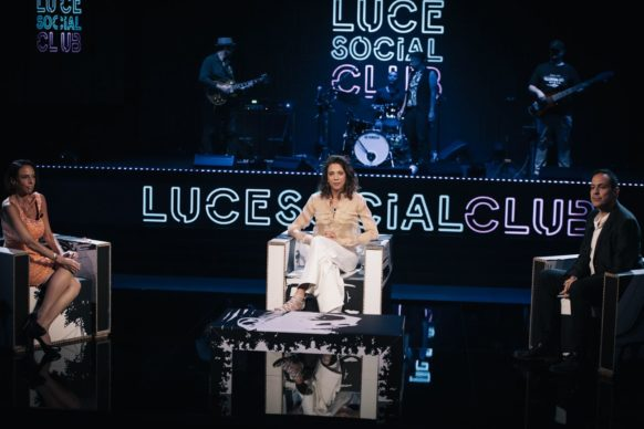 Barbara Chichiarelli, ospite dell'undicesima puntata di Luce Social Club