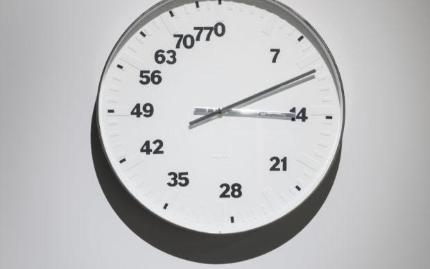 Time Matters at Cube Design Museum. Bertrand Planes, Life Clock 3, 2008. Photo Ruud Balk, via Cube Design Museum Flickr